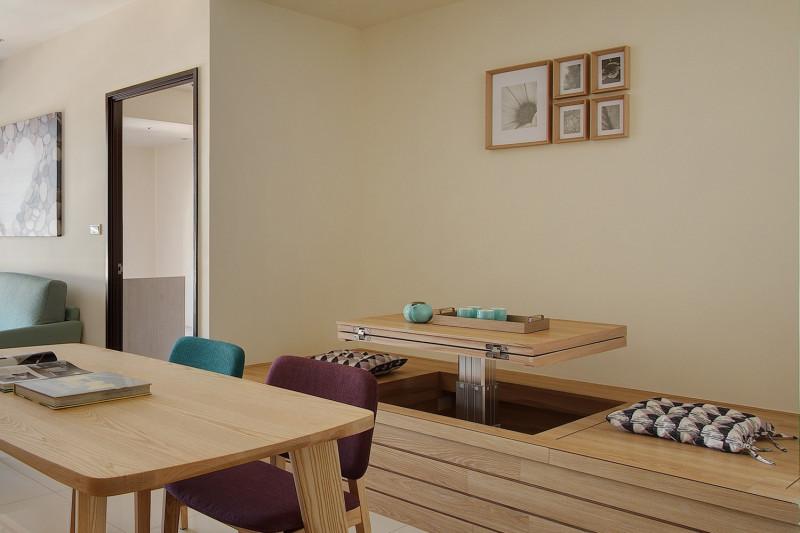 室內設計臥榻和室升降桌