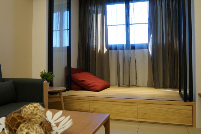 室內設計臥榻收納