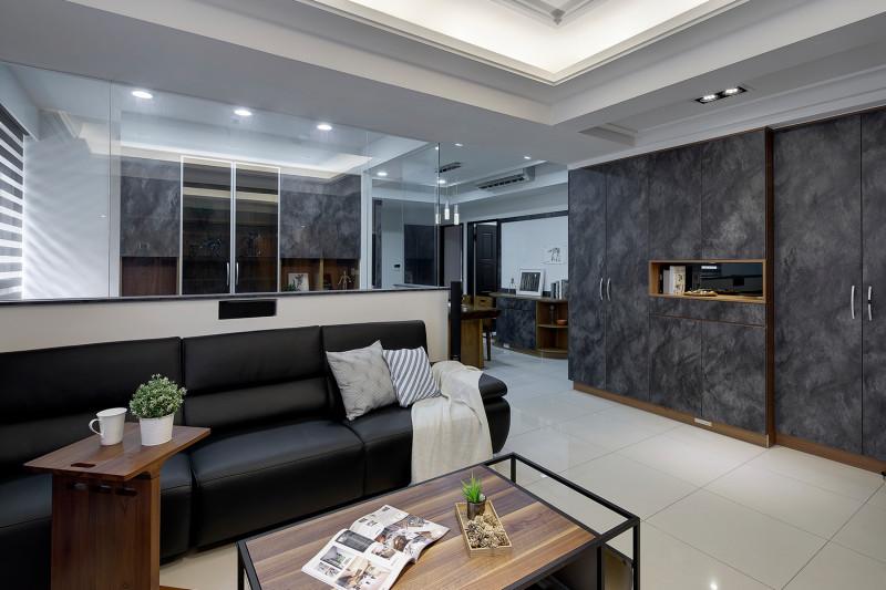 室內設計客廳風格書房隔間玄關收納